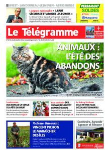 Le Télégramme Brest Abers Iroise – 22 juillet 2021