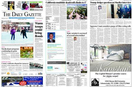 The Daily Gazette – January 11, 2018
