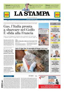 La Stampa Imperia e Sanremo - 20 Novembre 2018