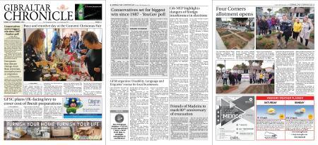 Gibraltar Chronicle – 29 November 2019