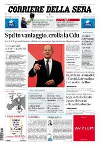 Corriere della Sera - 27 Settembre 2021