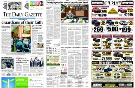 The Daily Gazette – October 29, 2018