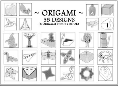 Origami - 55 Designs (& Theory Book)