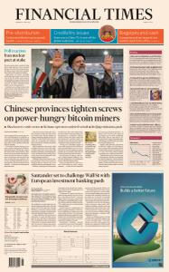 Financial Times Middle East - June 21, 2021