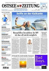 Ostsee Zeitung Wolgast - 15. September 2018