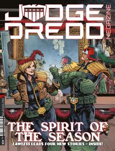 Judge Dredd Megazine 415 2019 digital Minutemen