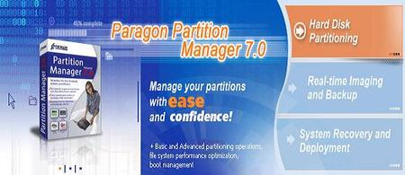 Portable Paragon Partition Manager 7