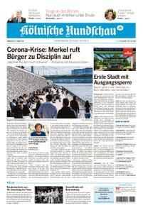 Kölnische Rundschau Wipperfürth/Lindlar – 19. März 2020