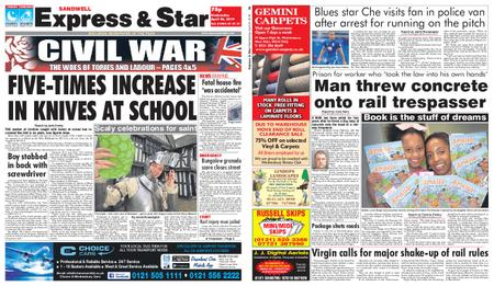 Express and Star Sandwell Edition – April 24, 2019