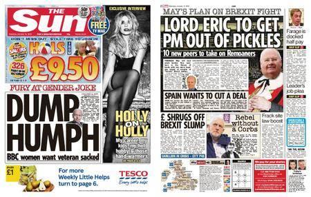 The Sun UK – 13 January 2018
