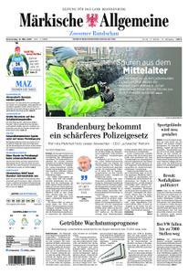 Märkische Allgemeine Zossener Rundschau - 14. März 2019