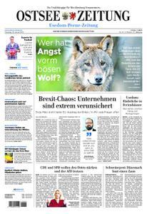 Ostsee Zeitung Wolgast - 29. Januar 2019