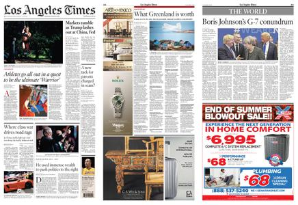 Los Angeles Times – August 24, 2019