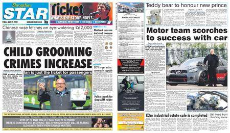 Shropshire Star Shrewsbury Edition – April 27, 2018