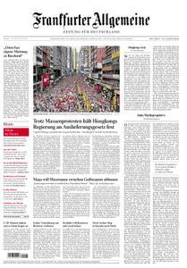 Frankfurter Allgemeine Zeitung F.A.Z. - 11. Juni 2019