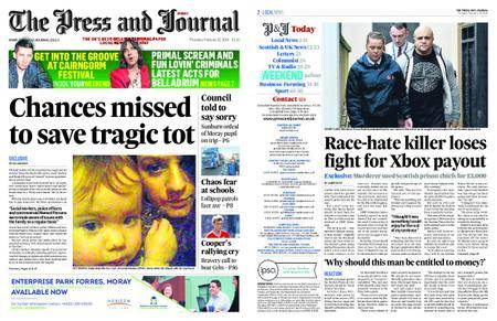 The Press and Journal Moray – February 22, 2018