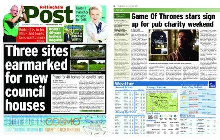 Nottingham Post – August 22, 2017