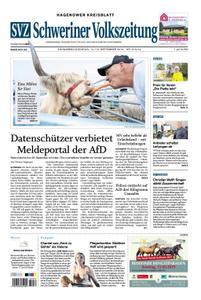 Schweriner Volkszeitung Hagenower Kreisblatt - 14. September 2019