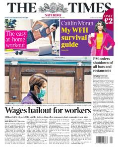 The Times - 21 March 2020