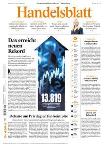 Handelsblatt - 29 Dezember 2020