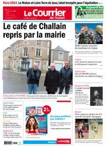 Le Courrier de l'Ouest Nord Anjou – 14 janvier 2020