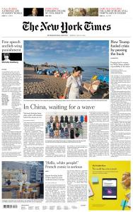 International New York Times - 20 July 2020