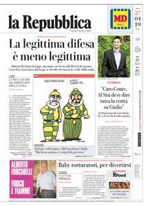 la Repubblica – 27 aprile 2019