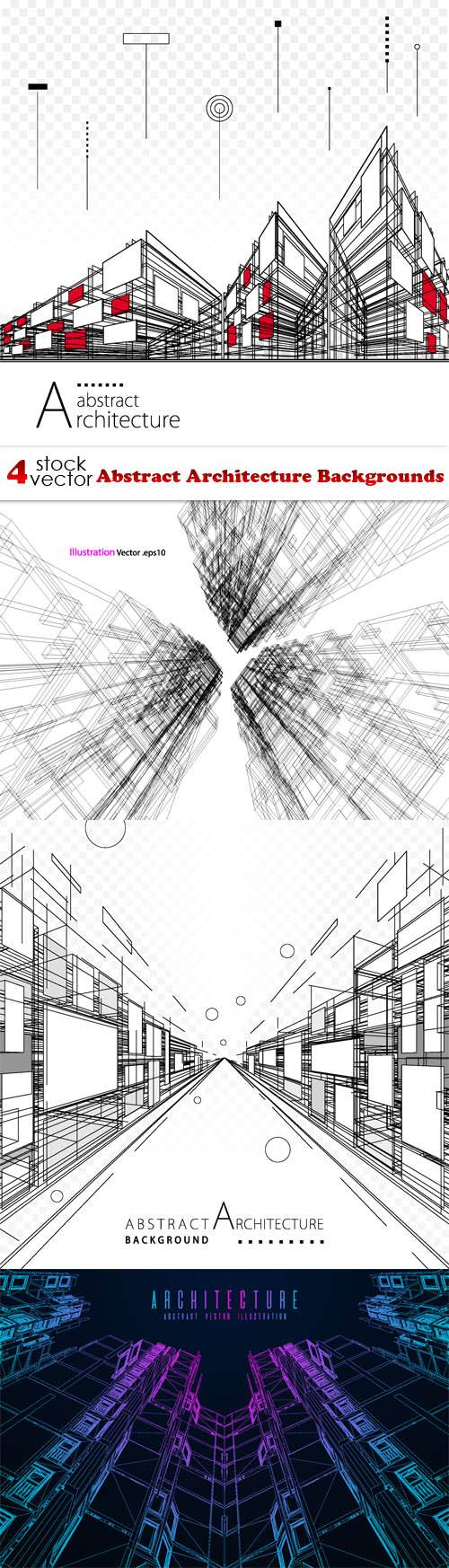 Vectors - Abstract Architecture Backgrounds