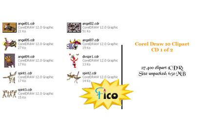 Corel_Draw_10_Clipart_CD_1_of_2