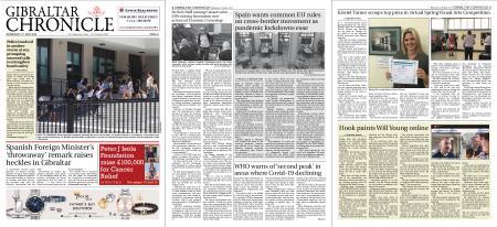 Gibraltar Chronicle – 27 May 2020