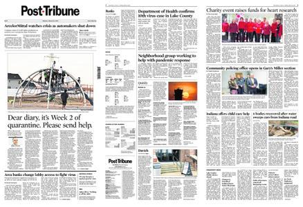 Post-Tribune – March 23, 2020