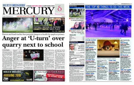 Hertfordshire Mercury – December 28, 2017