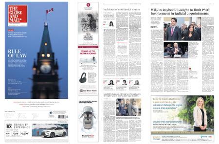The Globe and Mail – February 23, 2019