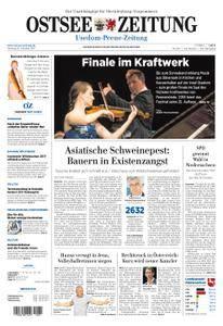 Ostsee Zeitung Wolgast - 16. Oktober 2017