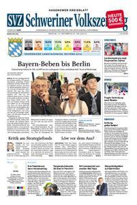 Schweriner Volkszeitung Hagenower Kreisblatt - 15. Oktober 2018