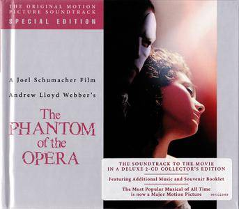 Andrew Lloyd Webber - The Phantom of the Opera (2004) The Original Motion Picture Soundtrack, Two CD Deluxe Collector's Edition