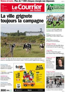 Le Courrier de l'Ouest Nord Anjou – 29 avril 2019