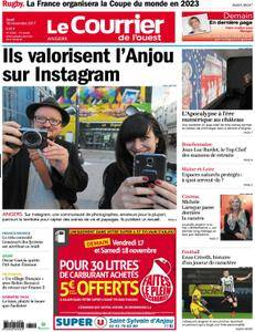 Le Courrier de l'Ouest Angers - 16 novembre 2017