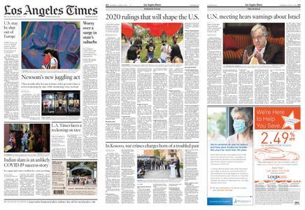 Los Angeles Times – June 25, 2020