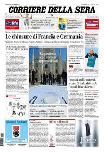 Corriere della Sera – 29 ottobre 2020