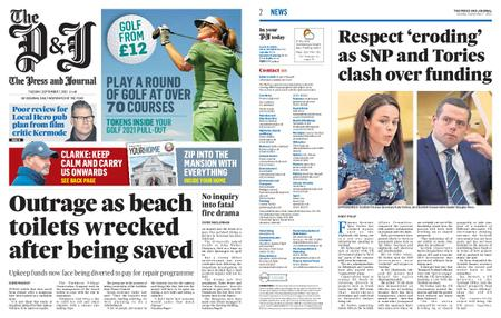 The Press and Journal Moray – September 07, 2021