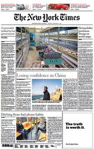 International New York Times - 25 February 2019