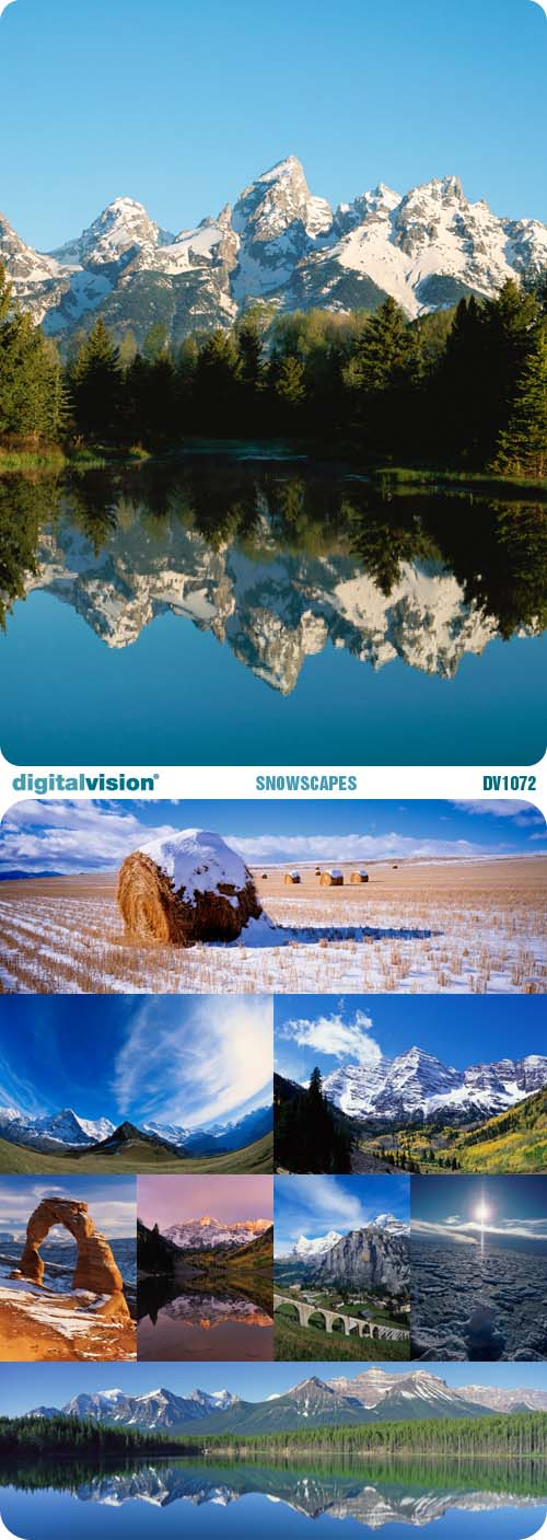 Digital Vision | DV1072 | Snowscapes