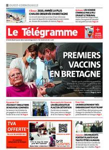 Le Télégramme Ouest Cornouaille – 05 janvier 2021