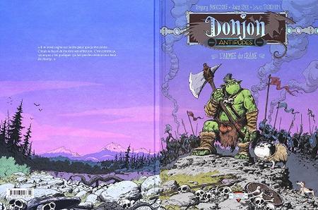 Donjon Antipodes - Tome 1 - 10000 L'armée du Crâne