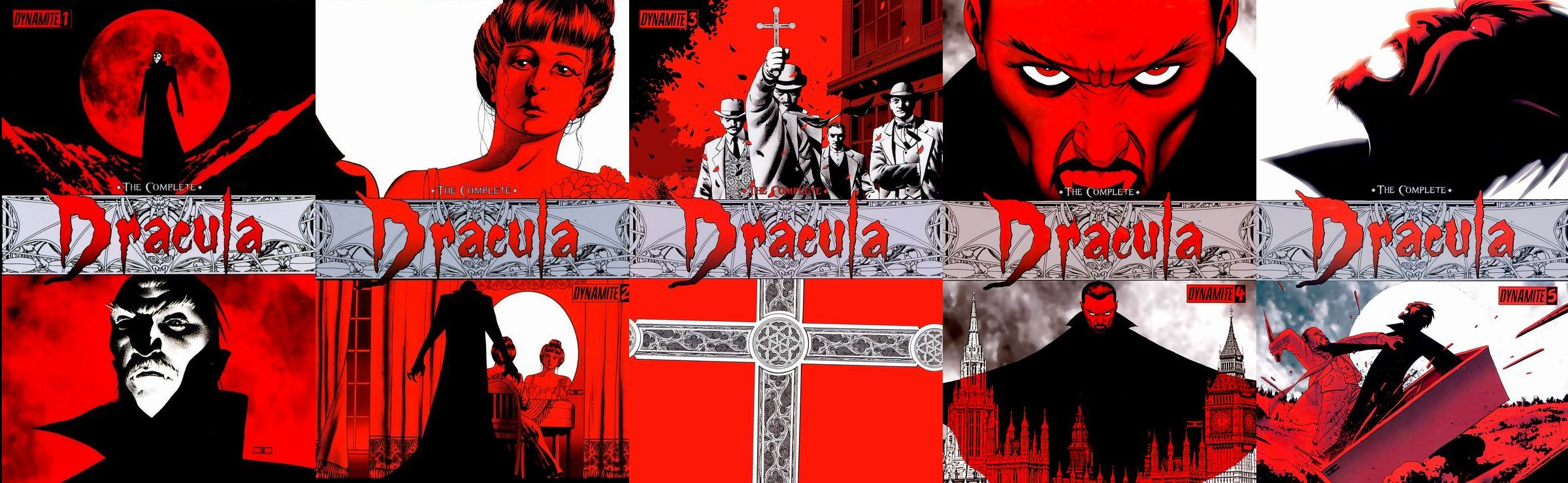 The Complete Dracula #1-5 (Of 5)