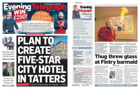 Evening Telegraph First Edition – August 29, 2019