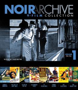 Noir Archive Volume 1: 9-Film Collection (1944-1954)