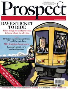 Prospect Magazine - March 2010