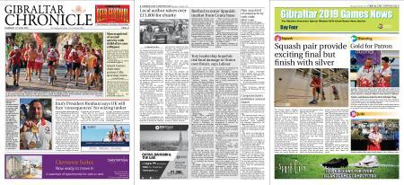 Gibraltar Chronicle – 11 July 2019